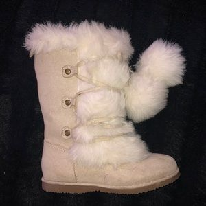 Old Navy Suede & Fur Boots 😍😍😍